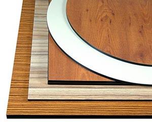 Kompakt-Tischplatten