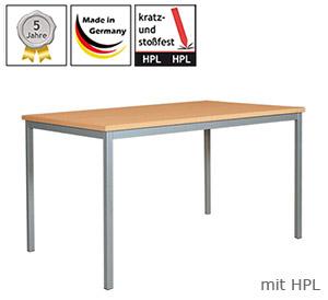 Mehrzwecktische mit HPL-Platte