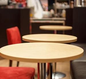 Runde Tischplatten