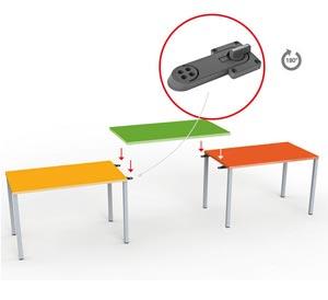 Tischplattenträger