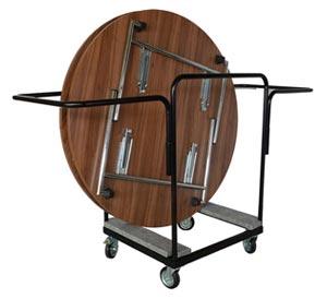 Transportwagen für runde Tische
